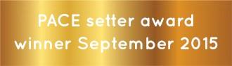 September 2015 Award